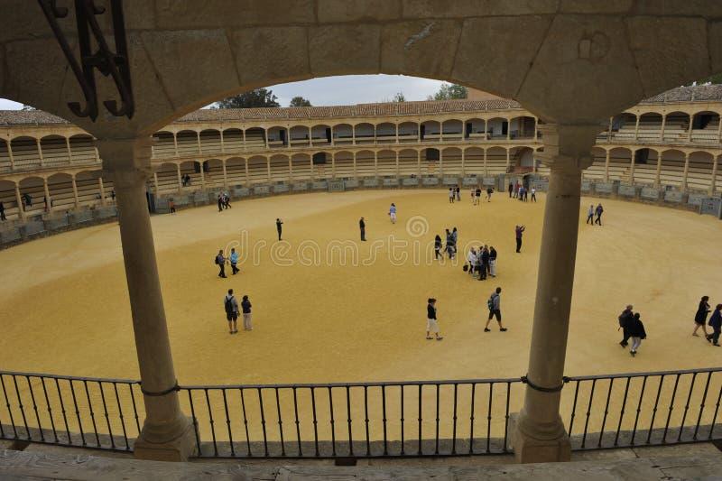 Arena de la tauromaquia, Ronda, España imagenes de archivo