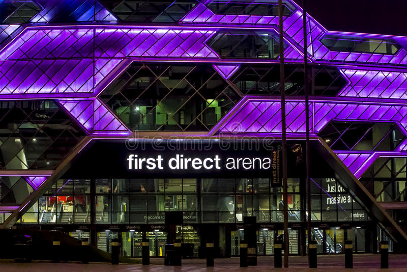 Arena de Leeds imágenes de archivo libres de regalías