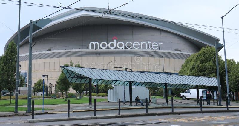 Arena de ModaCenter en Portland, Oregon imágenes de archivo libres de regalías