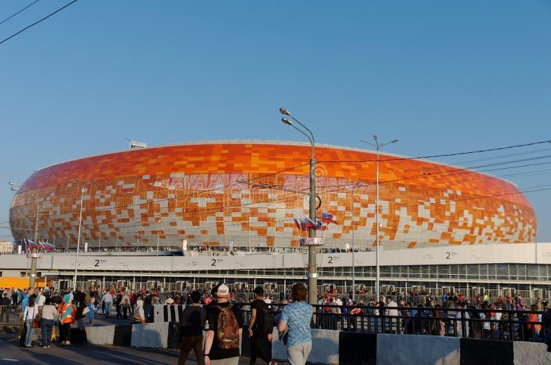 Arena de Mordóvia foto de stock royalty free