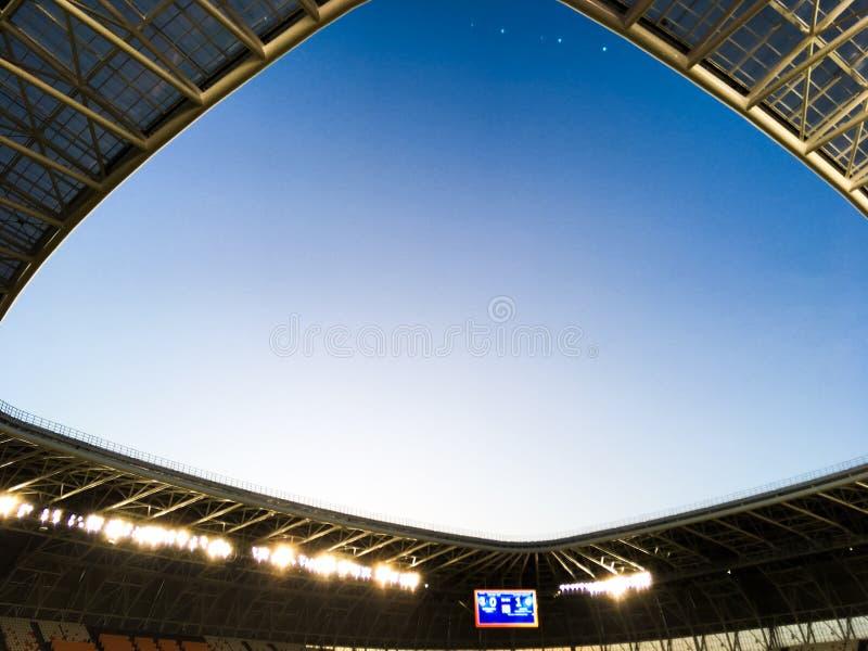 arena de Mordóvia do estádio no campeonato do mundo 2018 imagens de stock royalty free