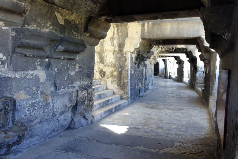 Arena de Nîmes royaltyfri bild