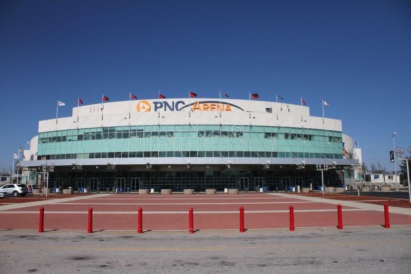 Arena de PNC, Raleigh, Carolina del Norte foto de archivo