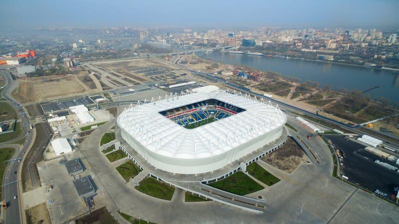 Arena de Rostov Rostov-On-Don Rússia foto de stock royalty free