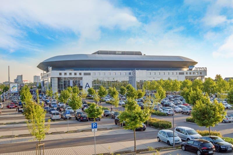 Arena de SAP, Mannheim fotos de stock royalty free