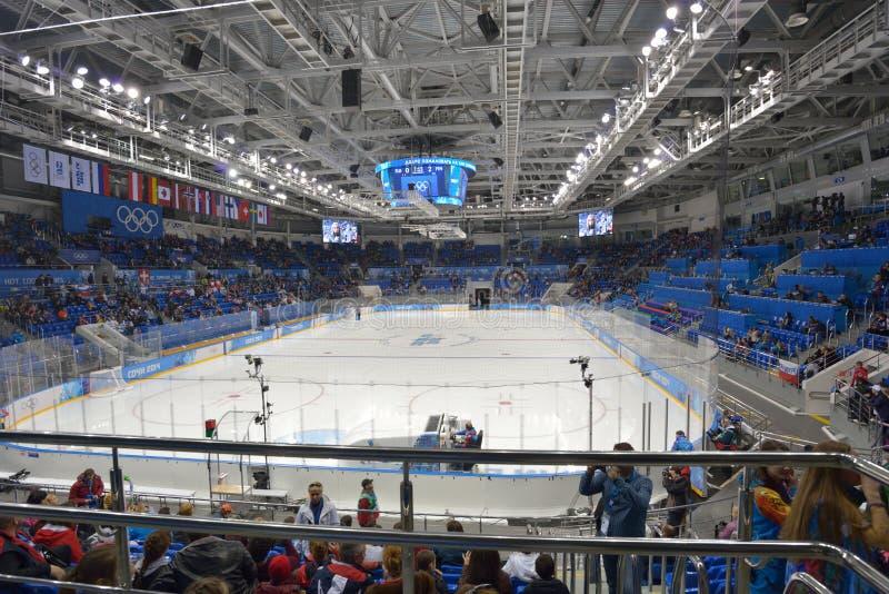 Arena de Shayba em Sochi foto de stock