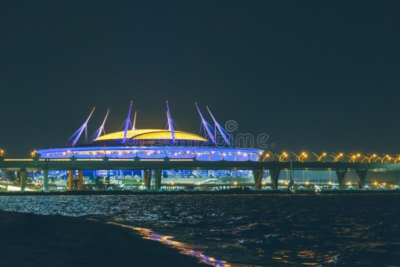 Arena de St Petersburg fotografia de stock royalty free