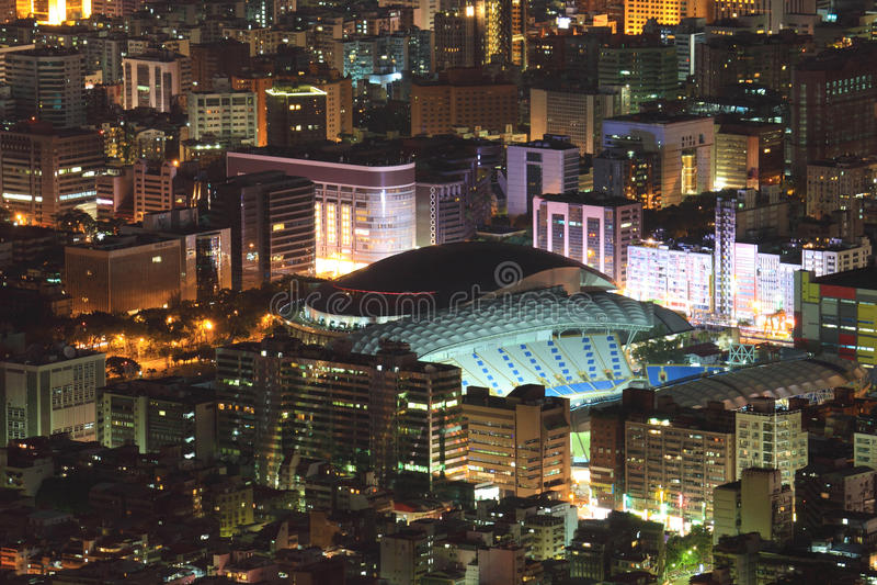 Arena de Taipei fotografia de stock