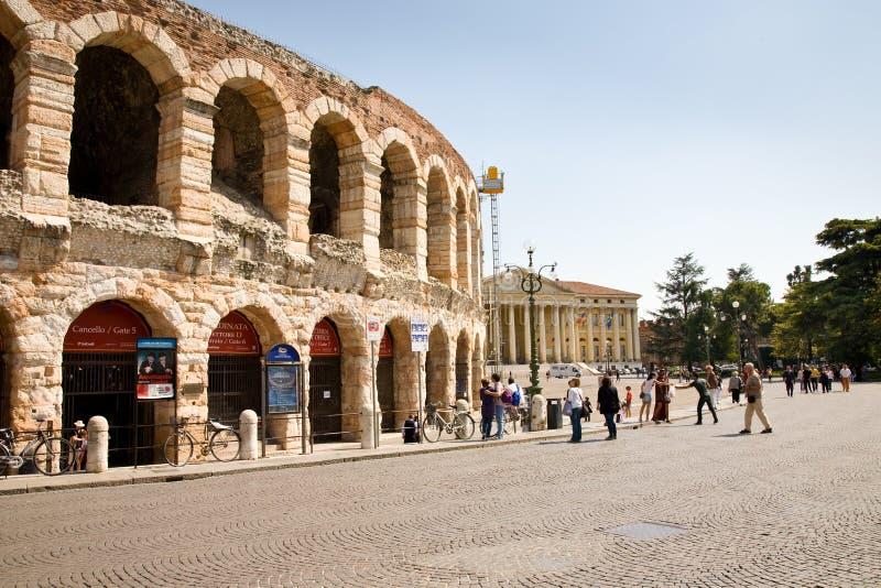 Arena de Verona imagens de stock royalty free