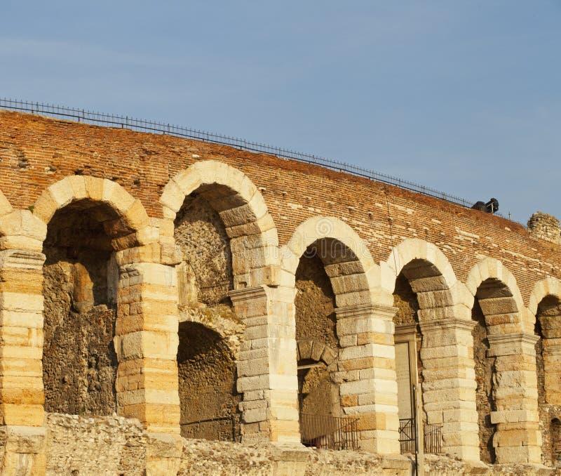 Arena de Verona foto de archivo