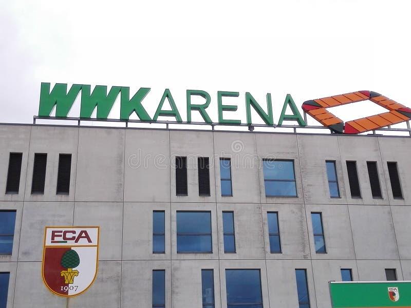 Arena de WWK foto de stock