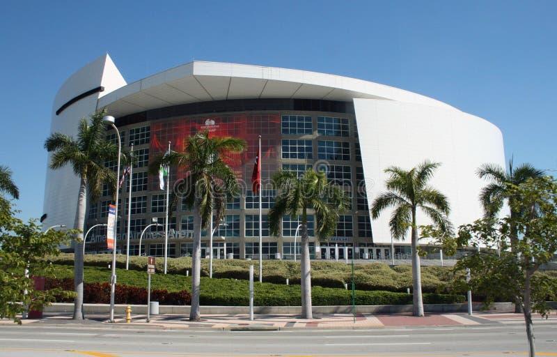 Arena del American Airlines, Miami, Florida fotografia stock libera da diritti