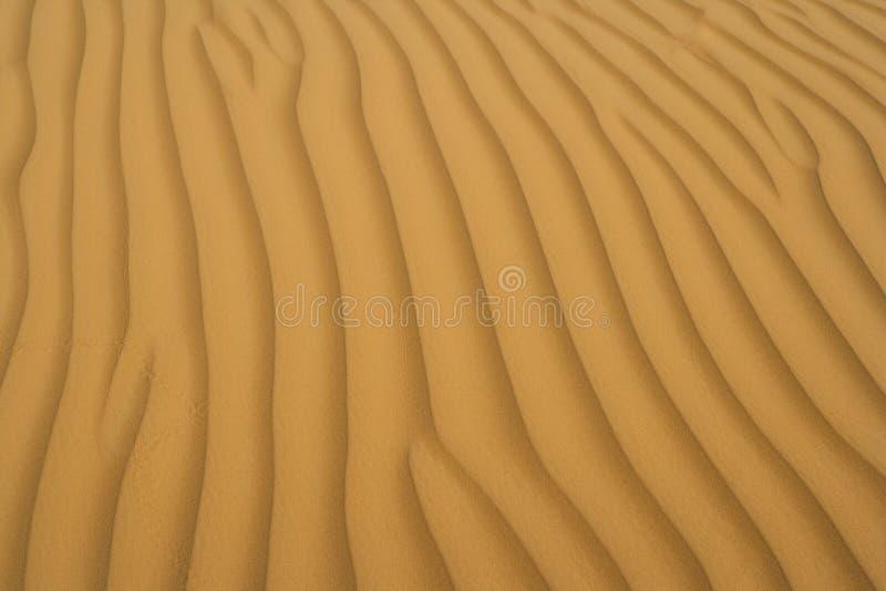 Arena del desierto fotografía de archivo libre de regalías