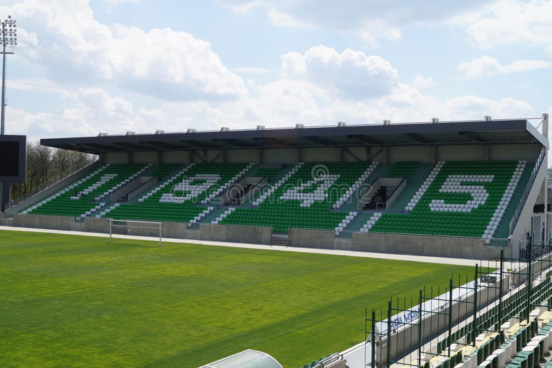 Arena del fútbol imagen de archivo