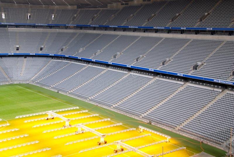 Arena del fútbol en Munich imagen de archivo libre de regalías