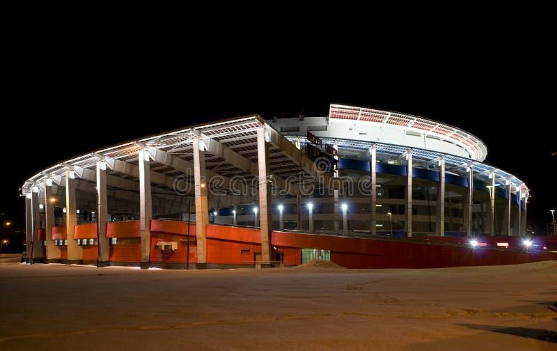 Arena del ghiaccio (palazzo di sport) fotografie stock libere da diritti