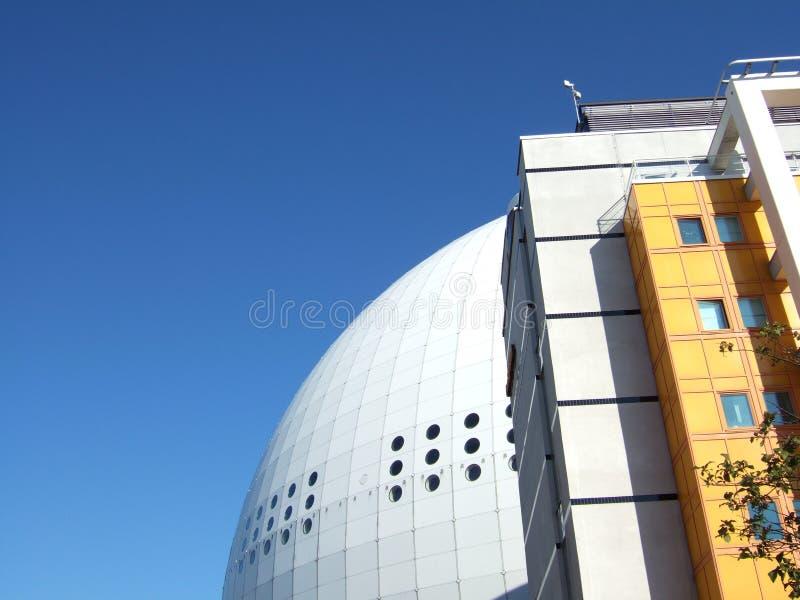 Arena del globo di Stoccolma immagine stock