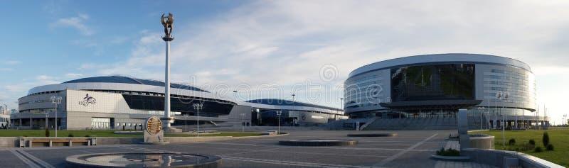 Arena del hokey di Minsk immagine stock