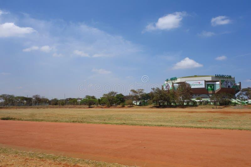 Arena dell'interno di Kasarani Safaricom a Nairobi fotografia stock