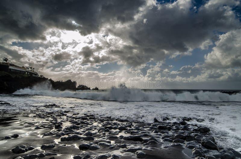 Arena della La di Playa fotografie stock libere da diritti