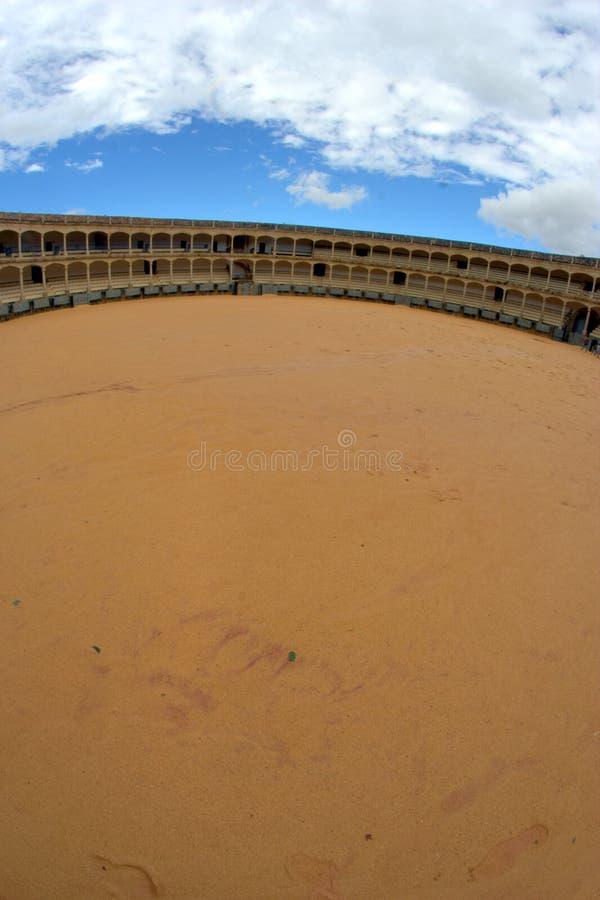 Arena della tauromachia a Ronda immagine stock libera da diritti