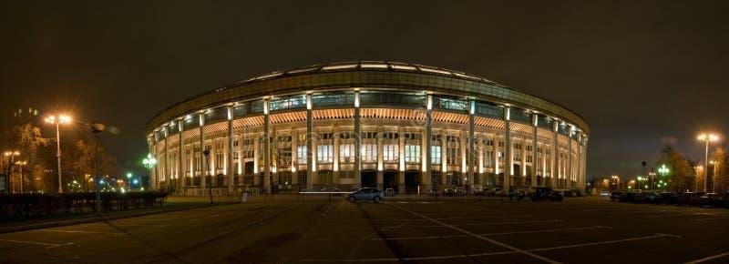 Arena deportiva magnífica en Luzhniki imágenes de archivo libres de regalías