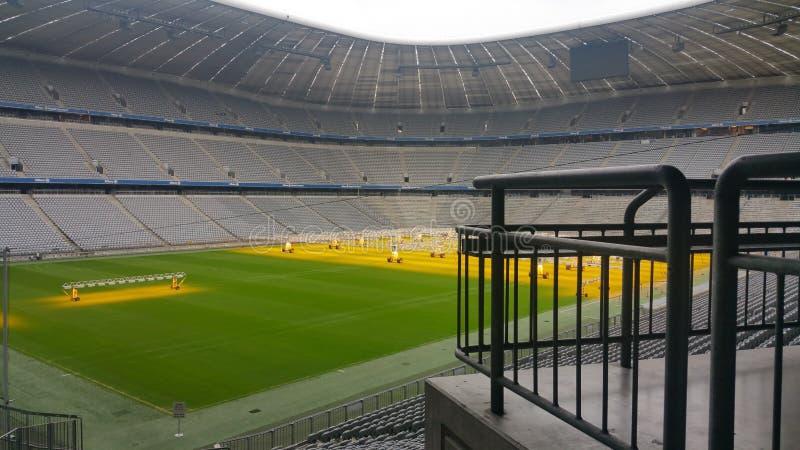 Arena di Alianz - FC Baviera Munchen - dutchland della Germania immagine stock libera da diritti