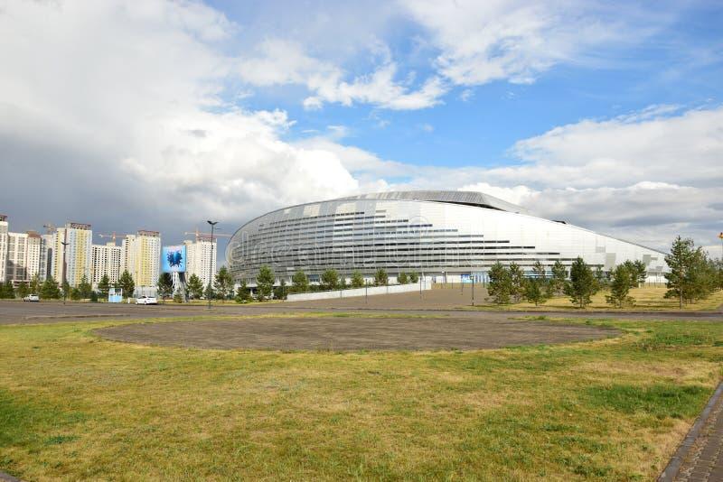 ARENA di ASTANA dello stadio di football americano a Astana immagine stock