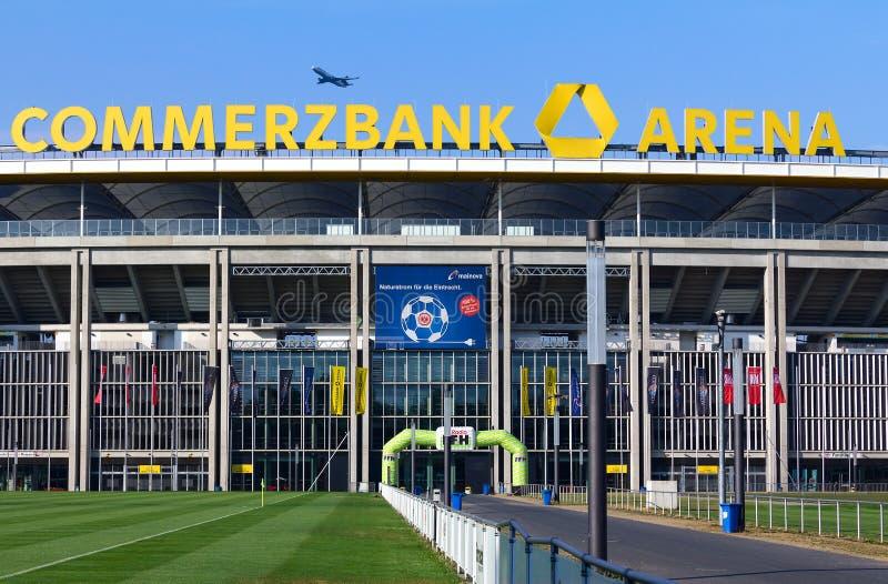 Arena di Commerzbank dello stadio di Francoforte immagine stock libera da diritti