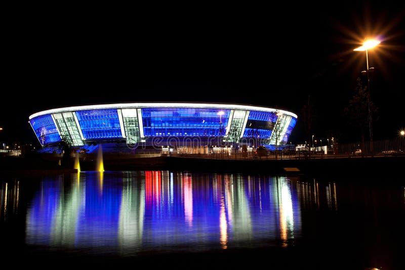 Arena di Donbass dello stadio immagine stock
