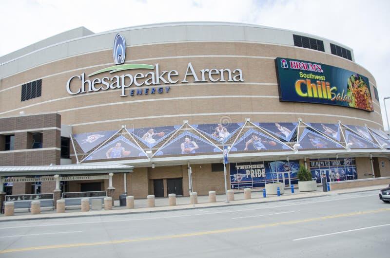 Arena di energia del Chesapeake fotografia stock