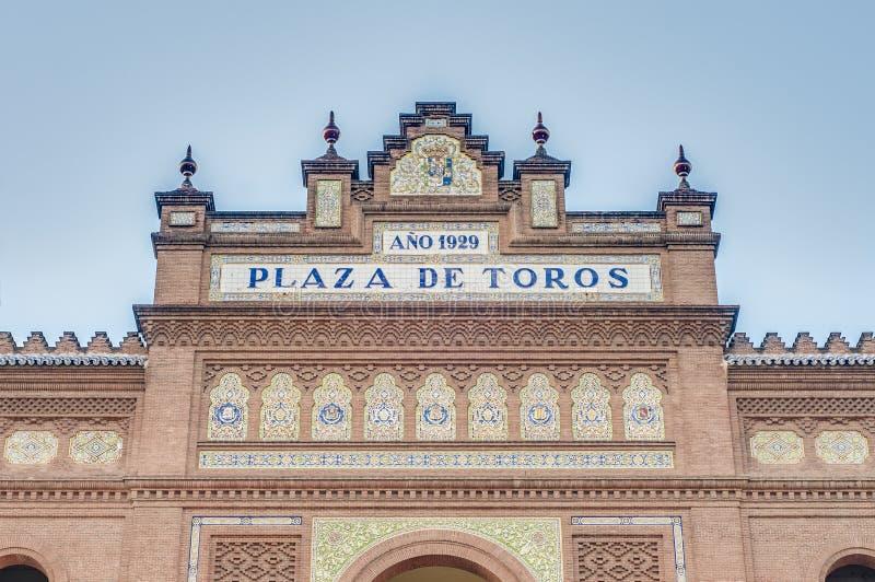 Download Arena Di Las Ventas A Madrid, Spagna Fotografia Stock - Immagine di spain, cityscape: 55360092