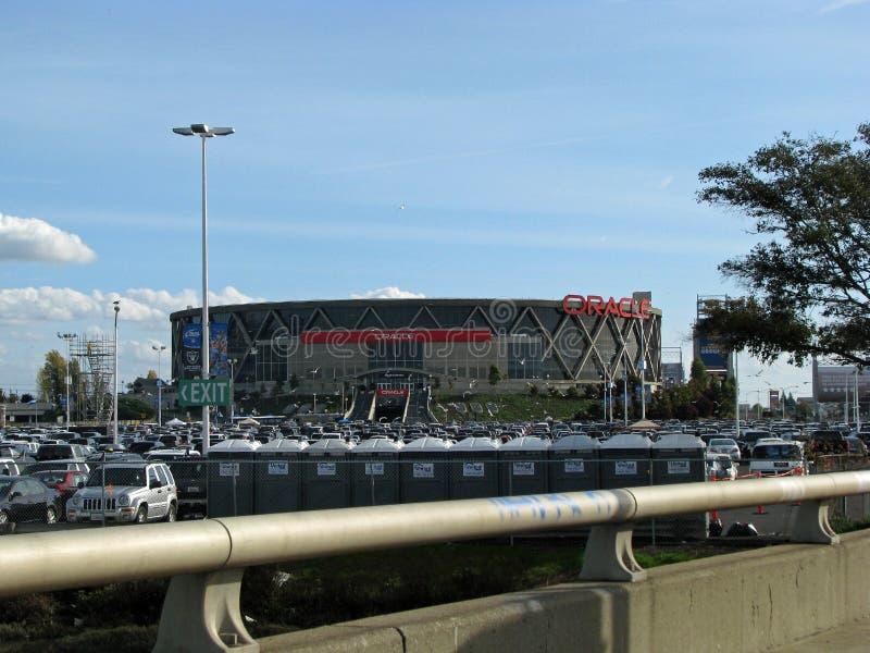 Arena di Oracle a Oakland, California immagini stock