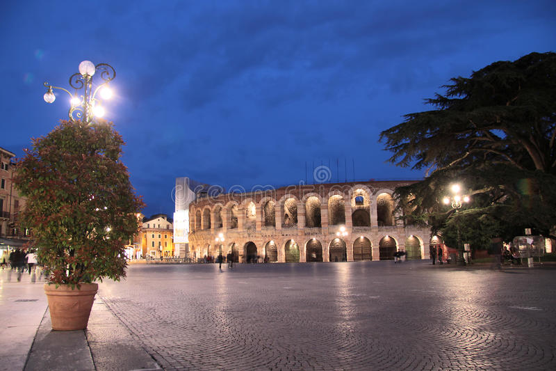 Download Arena di Verona stock photo. Image of oval, historic - 26405264