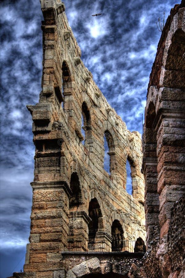Arena di Verona. HDR view of Verona Arena Amphitheatre stock photography