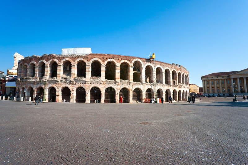 Arena di Verona, Italia immagini stock