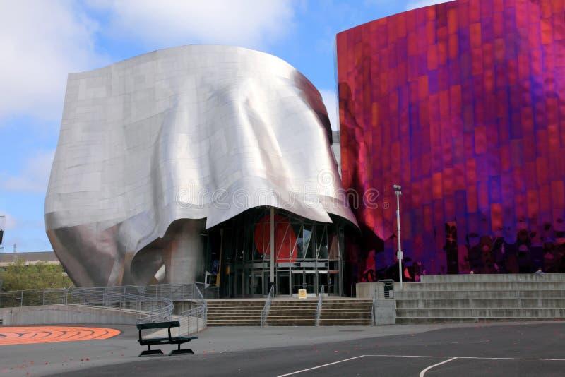 Arena do centro de música, Seattle Washington. foto de stock royalty free