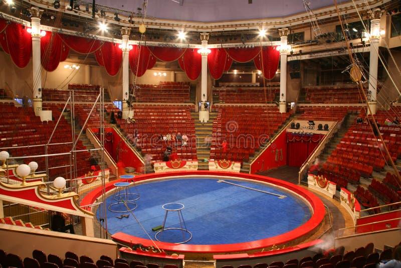 Arena do circo foto de stock