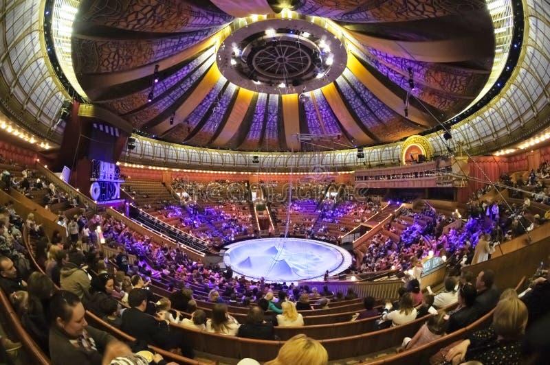 A arena do circo imagens de stock