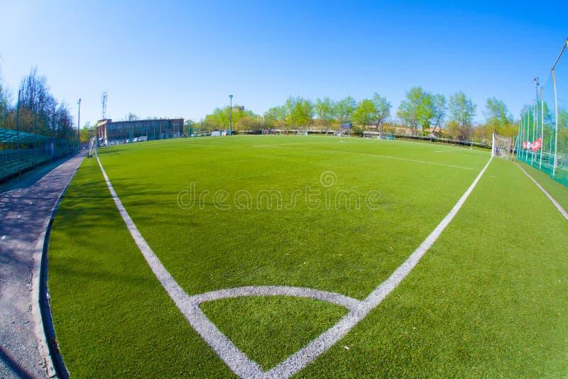 Arena do futebol fotografia de stock