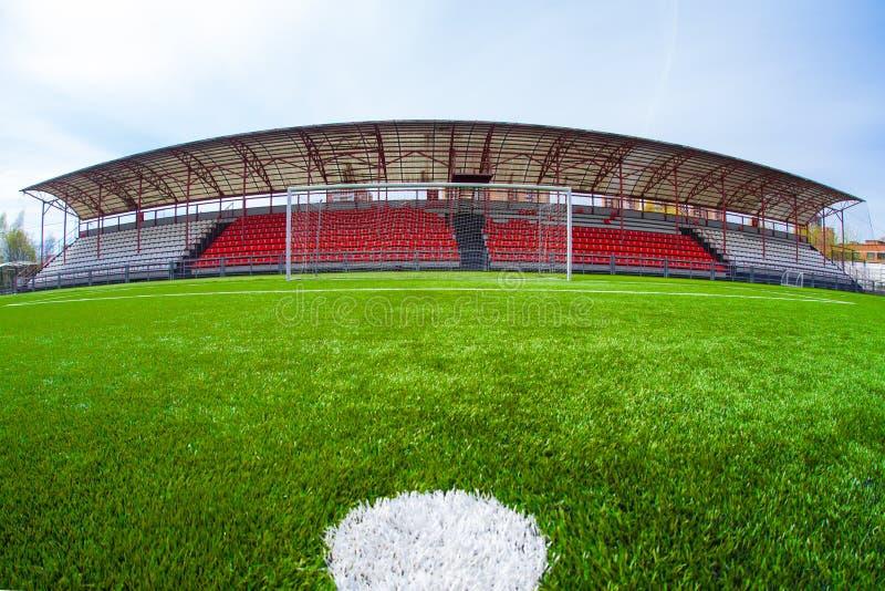 Arena do futebol, estádio fotografia de stock royalty free