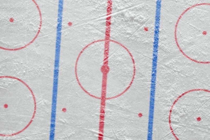 A arena do hóquei em gelo fotografia de stock
