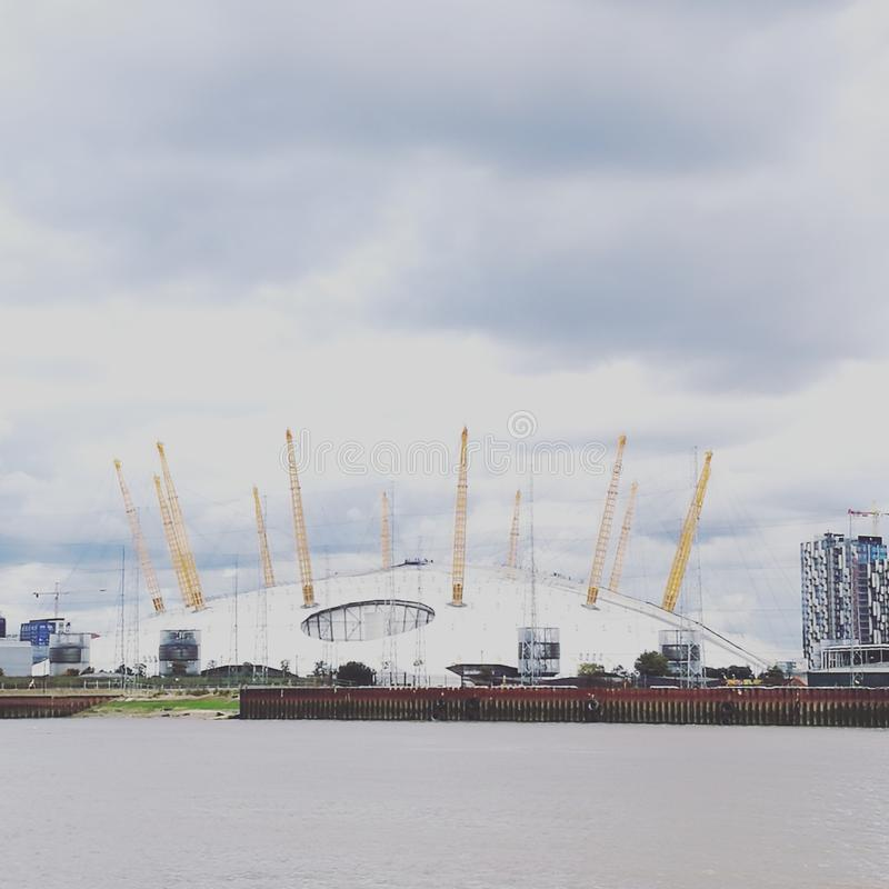 Arena do O2 de Londres imagem de stock royalty free