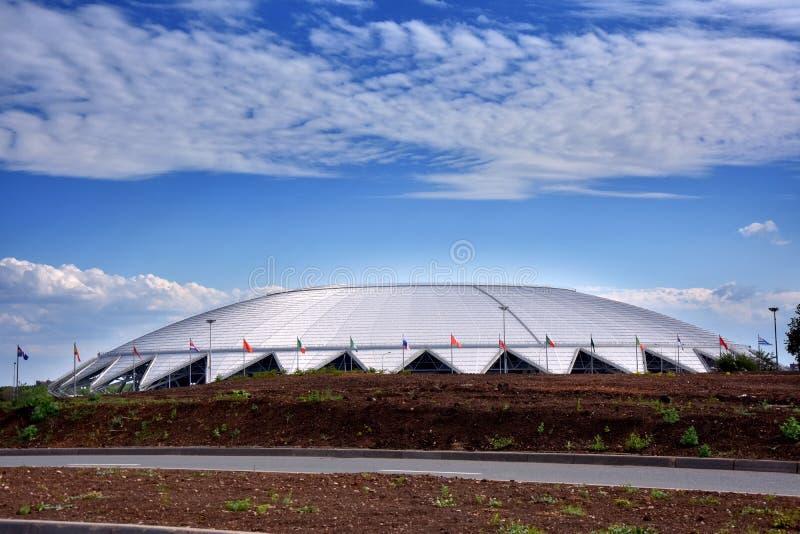 Arena do samara do estádio fotos de stock royalty free