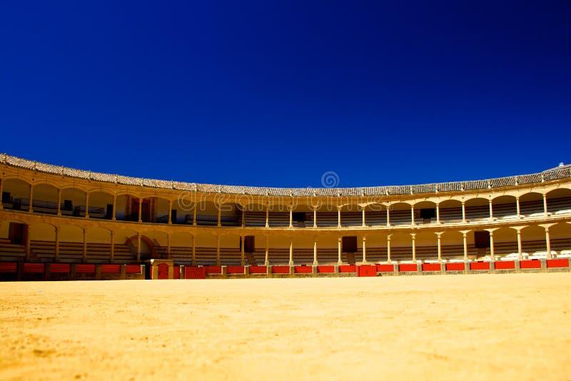 Arena do touro de Spain foto de stock