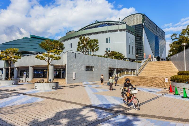 Arena do verde de Hiroshima imagem de stock