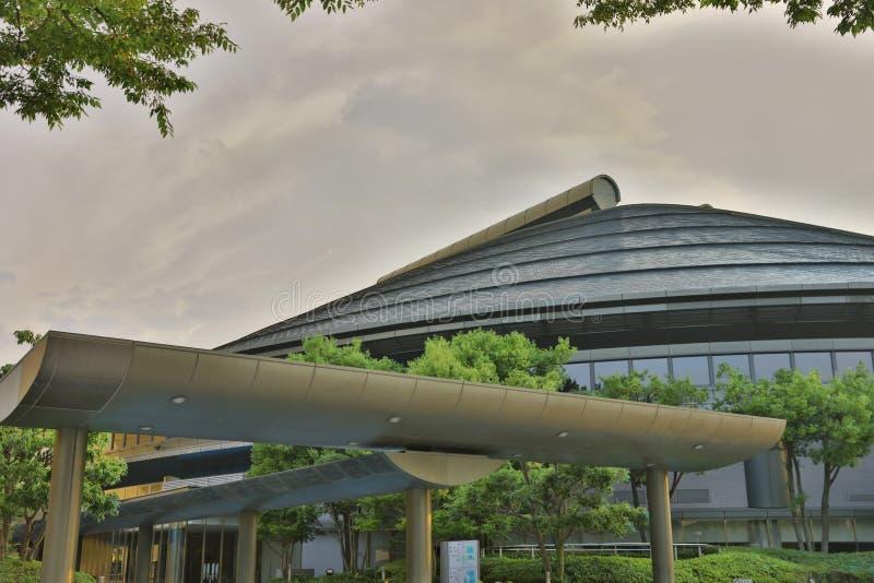 Arena do verde de Hiroshima em Hiroshima, Japão imagens de stock
