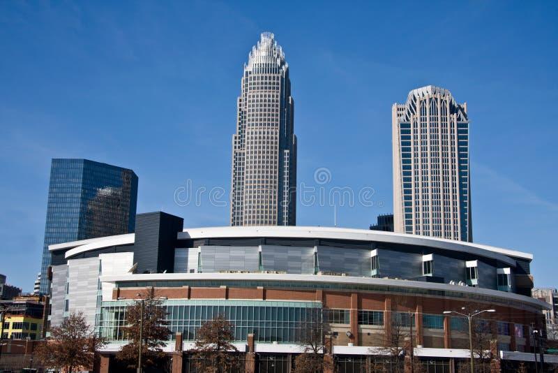 Arena dos linces de Charlotte em Charlotte imagens de stock royalty free