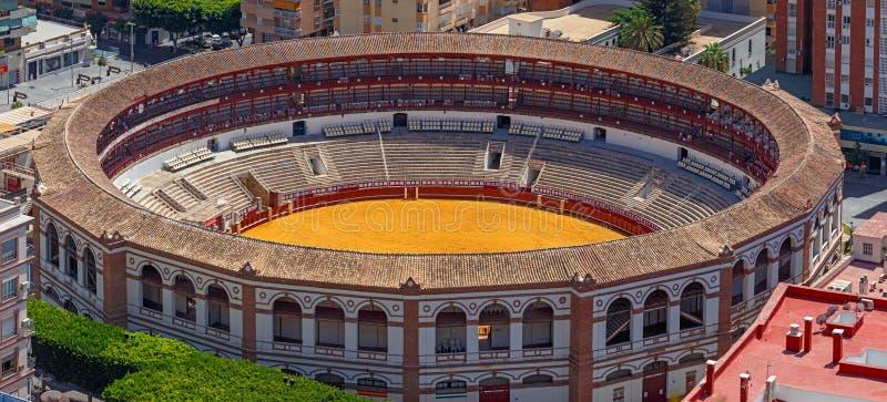 Arena el luchar de Bull en Ronda Spain foto de archivo libre de regalías