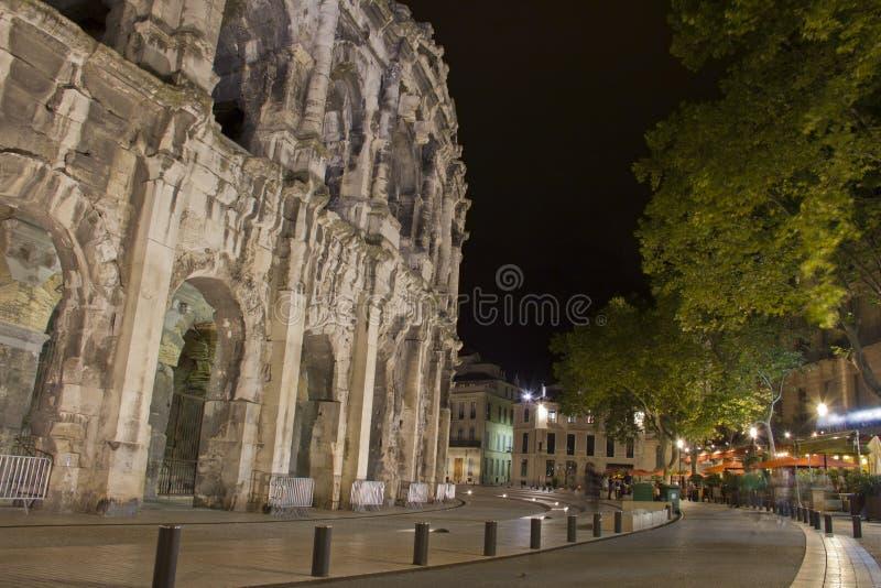 Arena em Nimes, France imagem de stock